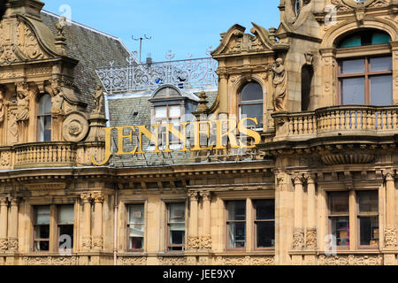 Jenners department store, Princes Street, Edinburgh, Scotland - Stock Photo