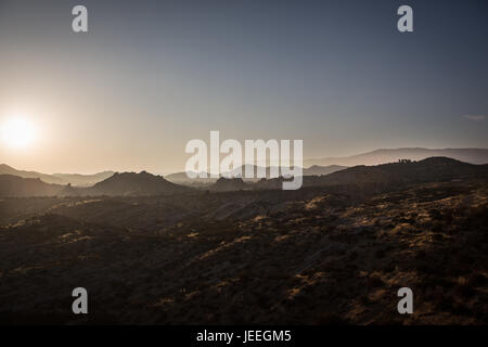 Martian landscape - Stock Photo