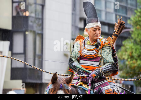 Jidai Matsuri - the 'Historical Parade', one of renowned three great festivals held on 22nd October each year Held - Stock Photo