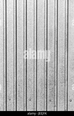 Part of the surface of the profiled sheet of galvanized steel as the background. - Stock Photo