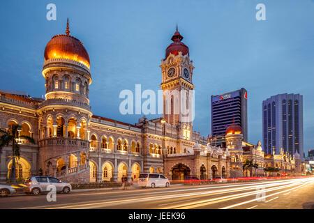 The Sultan Abdul Samad Building, Kuala Lumpur, Malaysia. - Stock Photo