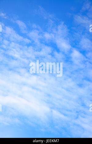 Clouds in the sky - background and space for your own text - Stock Photo
