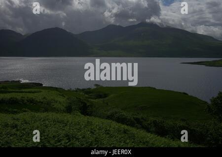 Isle of Mull mountains, Argyll and Bute, Scotland - Stock Photo