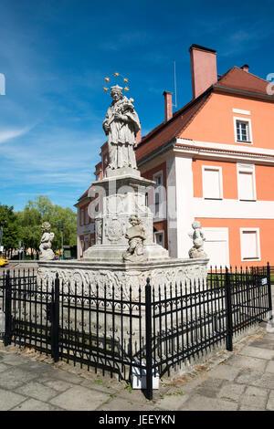 Nowogrodziec, Bolesławiec County, Lower Silesian Voivodeship, in south-western Poland - Stock Photo