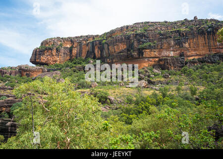 Burrunggui (Nourlangie Rock), Kakadu National Park, Northern territory, Australia. - Stock Photo
