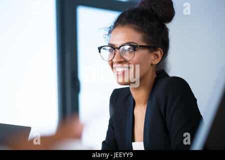 Team of business person works together - Stock Photo