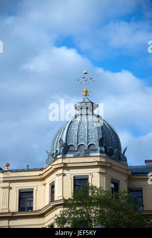 Stockholm is the capital and the biggest town of Sweden., Stockholm ist die Hauptstadt und die größte Stadt Schwedens. - Stock Photo