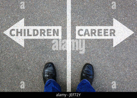 Children child kids career success job work life business concept successful - Stock Photo