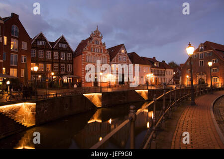 The Hanseatic town Stade is the capital town of the administrative district of the same name in Lower Saxony., Die - Stock Photo