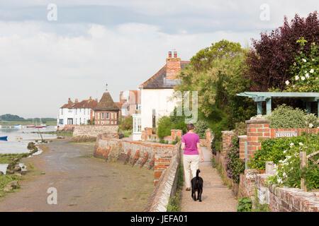 The attractive coastal village of Bosham, West Sussex, England, UK - Stock Photo