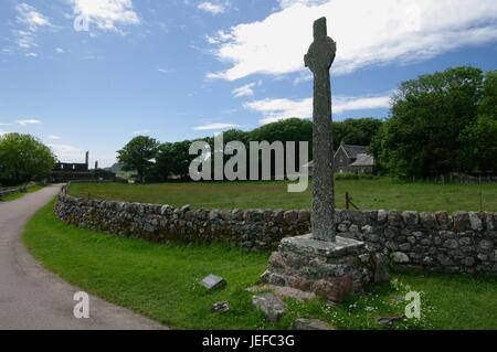 Iona, Inner Hebrides, Scotland - Stock Photo