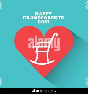 Grandparents day design - Stock Photo