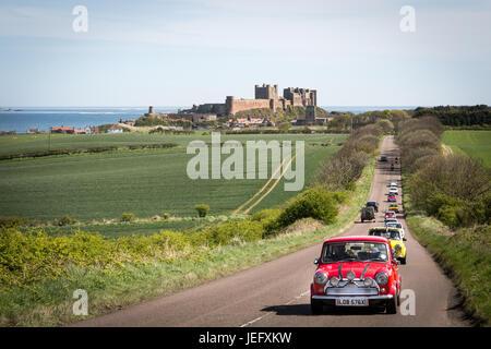 Bamburgh Castle,Northumberland, England, UK, Europe - Stock Photo