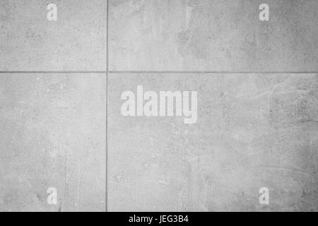 grey stone tile background , concrete style stoneware - Stock Photo