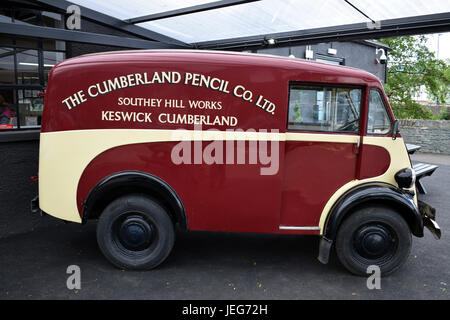 Vintage Ford Commercial Van -Cumberland pencil Company - Stock Photo