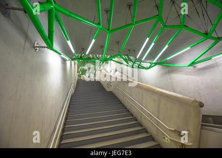 Lidabashi Station Tokyo - Stock Photo