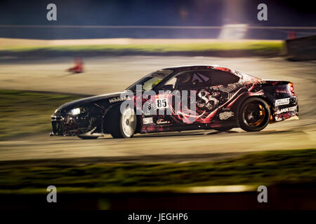 Sydney Motorsport Park, Australia. 24th June 2017.  Hot Nissan Silvia. Anthony Bolack/Alamy Live News - Stock Photo