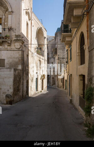Holiday destination, Matera, Citta' dei sassi, Basilicata, Italy,  World Heritage Site by UNESCO since 1993 - Stock Photo