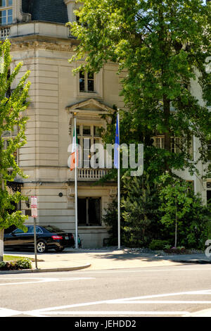Ireland Irish Embassy Embassy Row Massachusetts Avenue