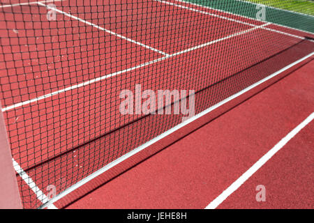 Sports tennis arena - Stock Photo