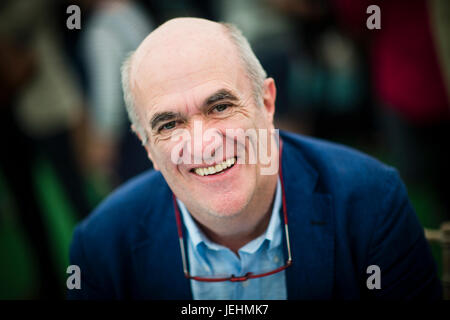 Colm Tóibín , Irish novelist, short story writer, essayist, playwright, journalist, critic and poet., appearing - Stock Photo