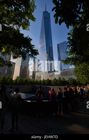 One World Trade Center, Freedom Tower, New York, USA - Stock Photo