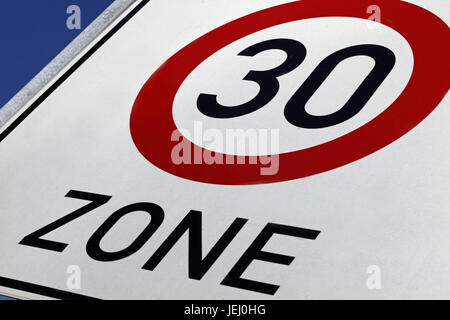 Zone 30 - Stock Photo