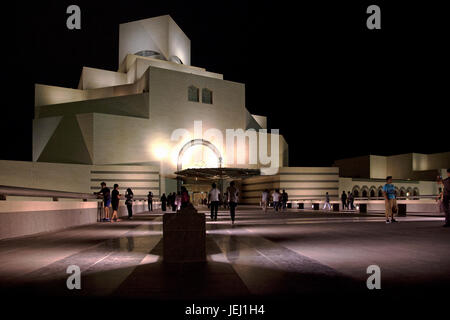 Museum of Islamic Art in Doha - Stock Photo