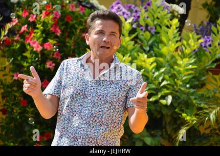 Rust, Germany, 25th June, 20017, Das Erste ARD TV Show 'Immer wieder Sonntags' Credit: mediensegel/Alamy Live News - Stock Photo