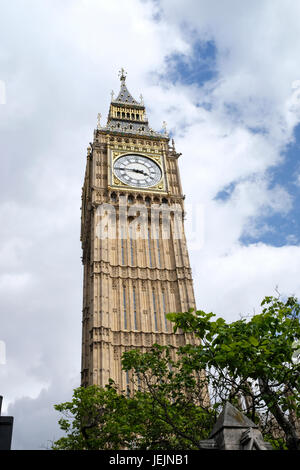 London's Big Ben Clock Tower - Stock Photo