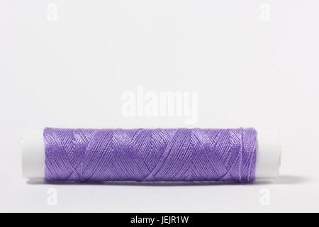 Cotton thread purple - Stock Photo