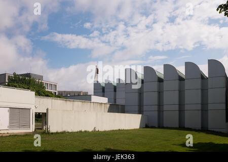 BERLIN, 16TH JUNE: The Bauhaus Archive (German: Bauhaus-Archiv) Museum of Design, in Berlin on June 16th, 2017. - Stock Photo