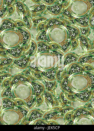 Abstract Digital Ornament - Stock Photo