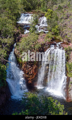 Florence Falls, Litchfield National Park, Australia. - Stock Photo