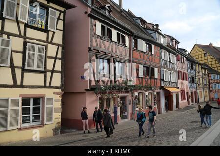 Colmar, France, Malcolm Buckland - Stock Photo