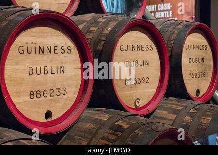 The Guinness Storehouse, St James's Gate, Dublin, Ireland. - Stock Photo