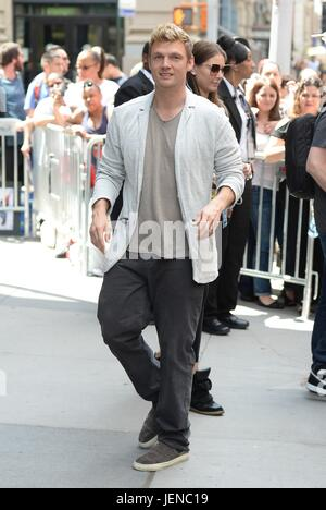 New York, NY, USA. 26th June, 2017. Nick Carter out and about for Celebrity Candids - MON, New York, NY June 26, - Stock Photo