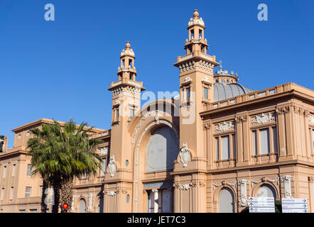 Italy, Apulia, Bari, Teatro Margherita - Stock Photo