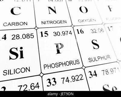 Phosphorus chemical element periodic table science symbol stock phosphorus on the periodic table of the elements stock photo urtaz Images