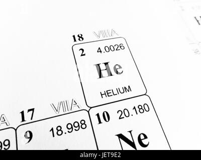 Helium he chemical element periodic table 3d render stock helium on the periodic table of the elements stock photo urtaz Choice Image