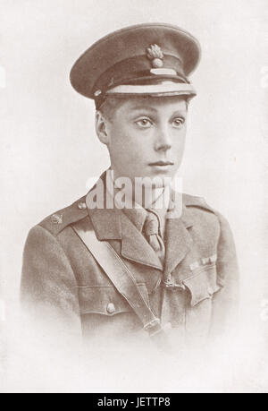 Prince of Wales on active duty, Later abdicated Abdicated as King Edward VIII - Stock Photo