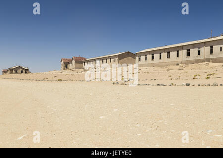 ghost town Kolmanskop, Namibia - Stock Photo