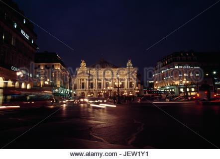 The Palais Garnier opera house in Paris. - Stock Photo
