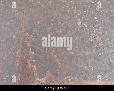 corroded rusty texture background, rusty metal as a sign of transience - Stock Photo