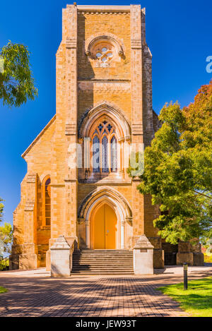 Saint Aloysius Church at Sevenhill winery in the Clare Valley, South Australia - Stock Photo