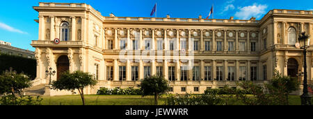 The French Ministry of Foreign Affairs ,Paris, France. - Stock Photo