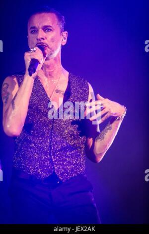 Milan, Italy 27th june Depeche Mode live at San Siro Stadium in Milan © Roberto Finizio / Alamy Live News - Stock Photo