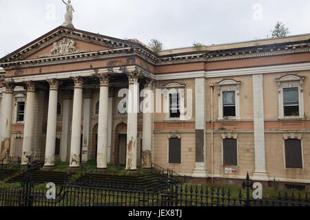 The Crumlin Road Courthouse was designed by the architect Charles Lanyon and completed in 1850. It is situated across - Stock Photo