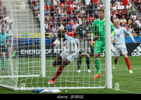 27th June 2017, Tychy, Poland, UEFA European U21 football championships, England versus Germany, semi-final; Tammy - Stock Photo