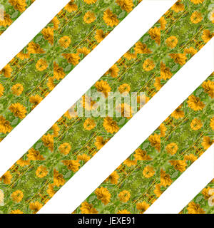 Indian Floral Pattern - Stock Photo